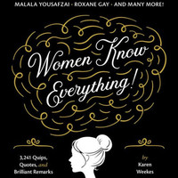 "Women Know Everything Book by Karen Weeks - Plus Free ""Read Feminist Books"" Pen"