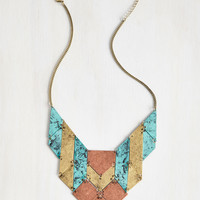 First On The Gleam Necklace | Mod Retro Vintage Necklaces | ModCloth.com