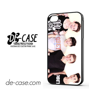 Jc Caylen Ricky Dillon Kian Lawley And Connor Franta DEAL-5838 Apple Phonecase Cover For Iphone 4 / Iphone 4S