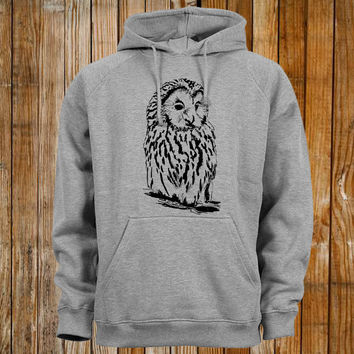 owl favorite design by Hooded Sweatshirt