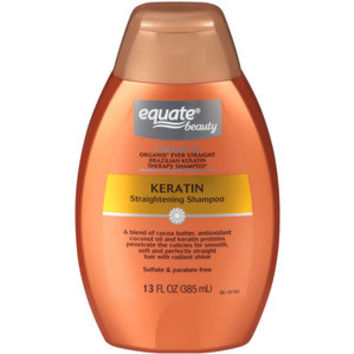 Walmart: Equate Beauty Keratin Straightening Shampoo, 13 fl oz