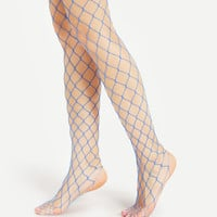 Hollow Out Fishnet TightsFor Women-romwe