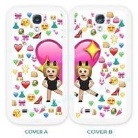 case,cover for samsung models>BFF emoji,emojis>best friend>friends>blond>girls.