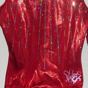 Discount Leotards GK Elite Sportswear Nastia Liukin Gymnastics Leotard E1786
