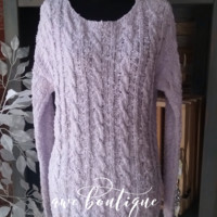 Previously Loved Pastel purple sweater S