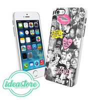 1D and 5sos collage Cover Case For iPhone 4/4S/5/5S/5C, iPod Touch 5, And Samsung Galaxy S3/S4/S5/Note 3