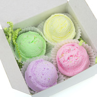 Gelato Sampler  Bath Bomb (set of 4)
