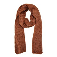 ZLYC Unisex Chunky Knit Multicolor Weave Long Scarf Wrap Shawl