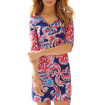 Lilly Pulitzer Palmetto V-Neck T-Shirt Dress
