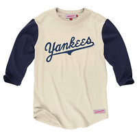 New York Yankees Batter 3/4 Sleeve T-Shirt - MLB.com Shop