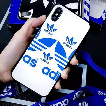 Adidas Popular Women Men iPhone Phone Cover Case For iphone 6 6s 6plus 6s-plus 7 7plus iPhone X XR XS XS MAX