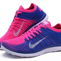 """""""NIKE"""" Fashion Knitting Solid color Casual Sports Shoes"""
