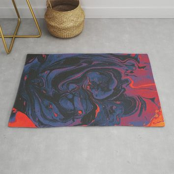 Fever Rug by duckyb