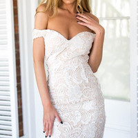Cream Crochet Dream Dress