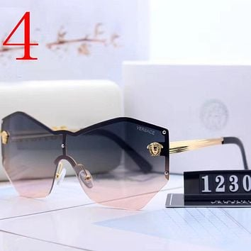 Versace Fashion Women Summer Sun Shades Eyeglasses Glasses Sunglasses