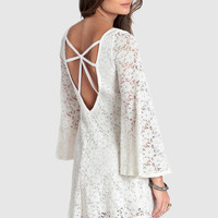 Double Crossing Lace Dress - $39.00: ThreadSence, Women's Indie & Bohemian Clothing, Dresses, & Accessories