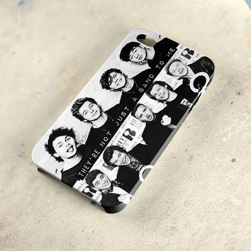5sos One Direction 1d Collage 3D Cases for iPhone 4 4S, iPhone 5 5S, iPhone 6 6Plus, Samsung Galaxy Case