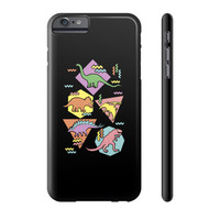 Nineties Dinosaur Pattern Phone Case