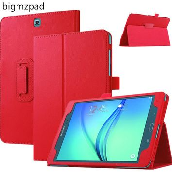 For Samsung Galaxy Tab A 9.7 T550 T555 PU leather 360 Rotating Stand Case cover For Galaxy Tab A 9.7 tablet screen protector+pen