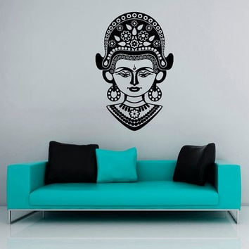 Wall Decals Ancient Egypt Egyptian Culture Patterns Women's Clothing Jewelry Bedroom Living Room Vinyl Decal Sticker Home Decor Mural  ML149