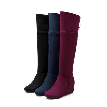Over the Knee Boots Women Shoes Fall|Winter 4662