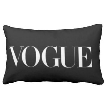 black pillow vogue