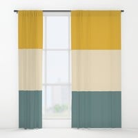 Sunshower Window Curtains by spaceandlines