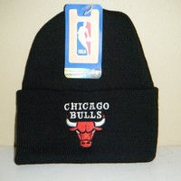 Chicago Bulls NEW Authentic Beanie toque knit hat