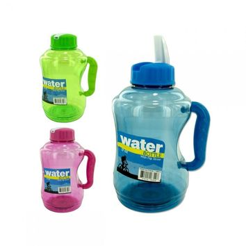 57 Oz Water Bottle With Flip Straw Assorted Colors HB412
