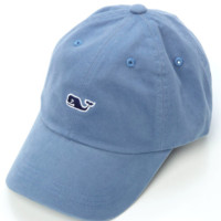 Vineyard Vines Signature Whale Logo Baseball Hat- Jake Blue