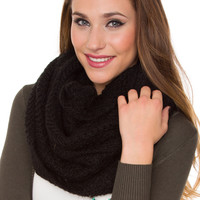 Windsor Infinity Scarf - Black