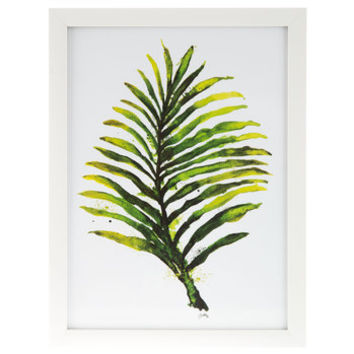 Watercolor Fern Leaf Framed Wall Decor | Hobby Lobby | 1295351
