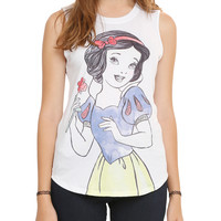 Disney Snow White Watercolor Girls Muscle Top