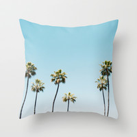 California Summer Throw Pillow by Bree Madden | Society6