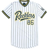 Young & Reckless Game Winner Jersey - Mens Tee - White