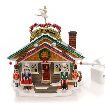 Department 56 House The Nutcracker House Village Animated Building