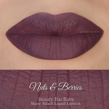 Liquid Lipstick Nuts & Berries Matte Attack Liquid Lipstick