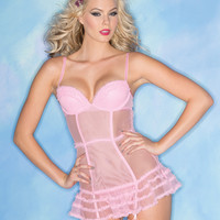Candy Pink Chemise