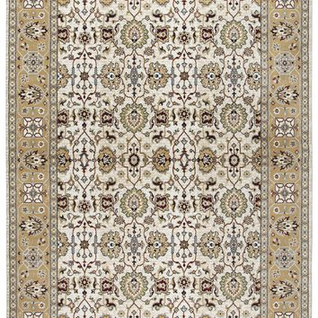 Rizzy Home Zenith ZH7058 Ivory Motif Area Rug