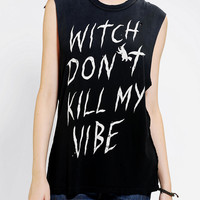 Urban Outfitters - UNIF Witch Don't Kill My Vibe Muscle Tee