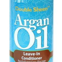 Double Sheen Argan Oil Leave In Conditioner For All Hair Types