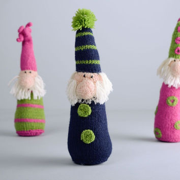 Woolen crochet toy Gnome handmade toys for kids stuffed toy designs gift ideas