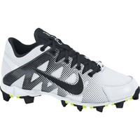 Nike Women's Hyperdiamond Keystone Softball Cleats - White/Black | DICK'S Sporting Goods