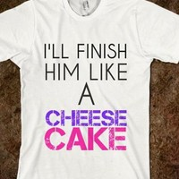 Nwt Pitch Perfect Tee Finish Him Like A Cheesecake Tshirt Fat Amy