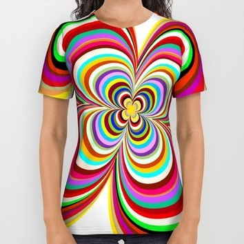 Colors All Over Print Shirt by Robleedesigns