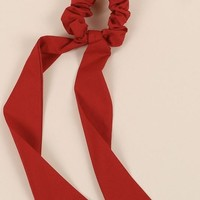 Detachable Scrunchie Scarf