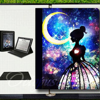 Moon girl,iPad 4 Cover,iPad 2 Cover,iPad 3 Cover,iPad air cover,iPad case,iPad cover,iPad leather case,ipad 2 case,ipad 3 case