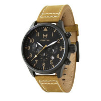Meister Aviator AV104LS Black/Tan Watch
