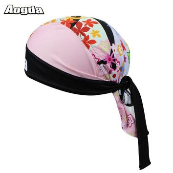MTB Headband Men Women Sport Head Scarf Free Size Windproof Bike Bicycle Hat Pirate Headscarf Cycling Cap Bandana Hood