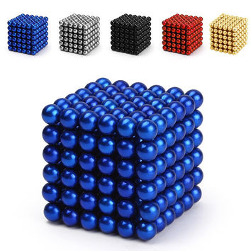 5 mm 216 pcs. Neodymium Magnetic Balls Sphere Beads Magic Cube Puzzle Magnets Day Gift Car Home Decoration Birthday